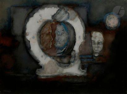 Paul RAMBIÉ (né en 1919) Apparition, 1983...