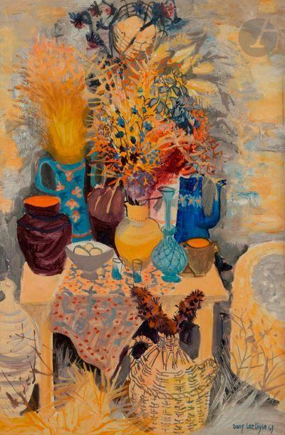 Dany LARTIGUE (1921-2017) Bouquet d'été,...