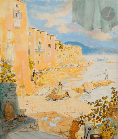 Dany LARTIGUE (1921-2017) Saint-Tropez, la...