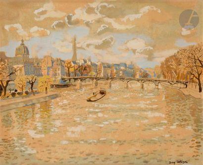 Dany LARTIGUE (1921-2017) Paris, le Pont...