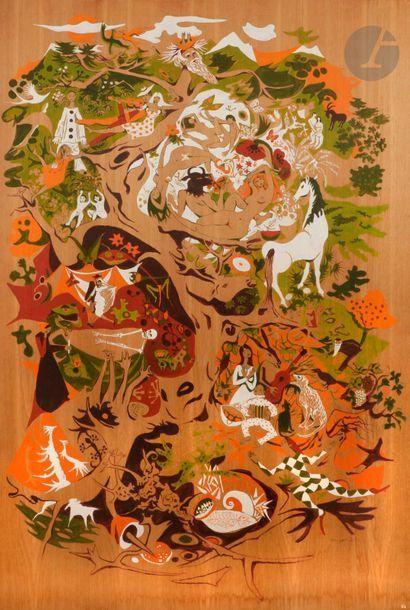 Dany LARTIGUE (1921-2017) Pastorale moderne...