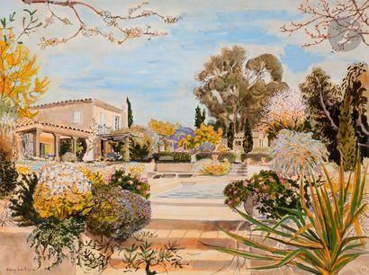 Dany LARTIGUE (1921-2017) La Villa Technique...