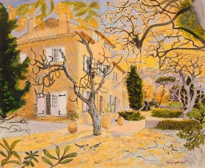 Dany LARTIGUE (1921-2017) Le Jardin Technique...