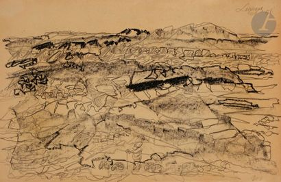 Charles LAPICQUE (1898-1988) L'Atlas saharien,...