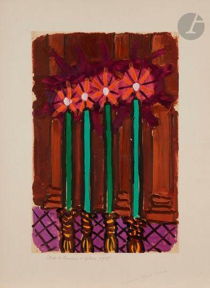 Charles LAPICQUE (1898-1988) Études de lumières...