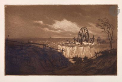 Henri Guérard (1846-1897) Carrières à Vanves....