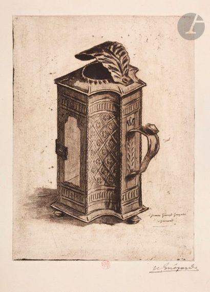 Henri Guérard (1846-1897) Lanterne, à Jeanne...