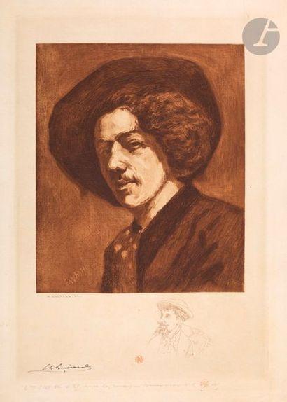 Henri Guérard (1846-1897) Whistler d'après...