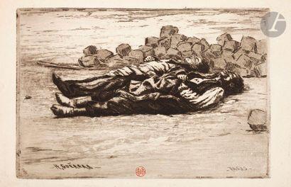 Henri Guérard (1846-1897) Sujets divers:...