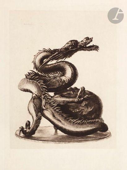Henri Guérard (1846-1897) Grand dragon de...