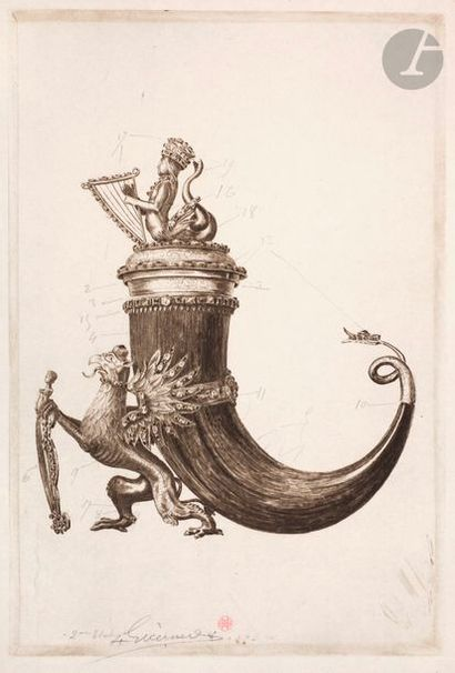 Henri Guérard (1846-1897) Objets d'art:...