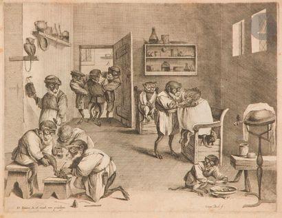 Coryn Boel (c. 1620-1688) La Boutique du...