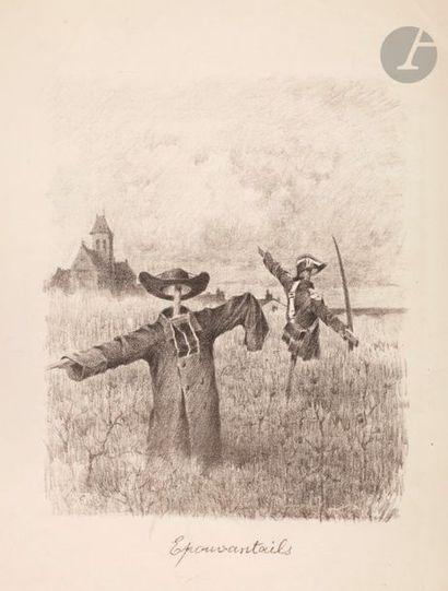 L. Chevalier (dates inconnues) Épouvantails....