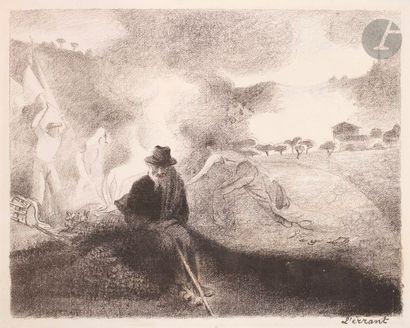 Henri-Edmond Cross (1856-1910) L'Errant....