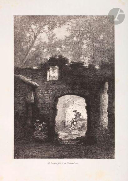 Émile Daumont (1834-1921) Le Dernier gîte...