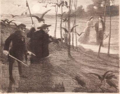 Aristide Delannoy (1874-1911) Souteneurs...