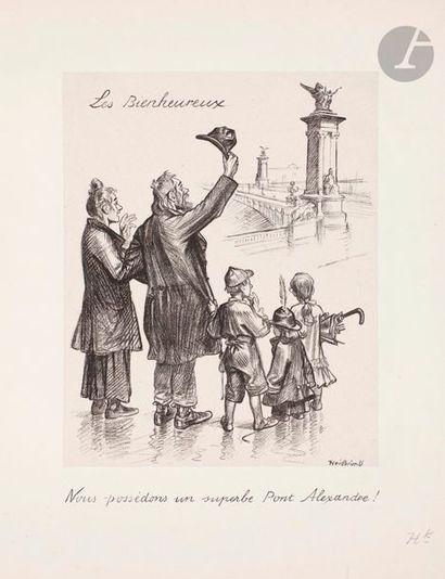 Oswald Heidbrinck (1858-1914) Les Bienheureux....