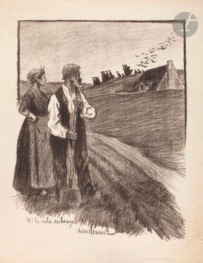 Jules Hénault (1859-1909) Ah! Les sales...