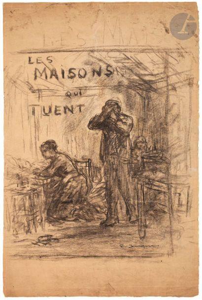 Frédéric Jacque (1859-?) Les Maisons qui...