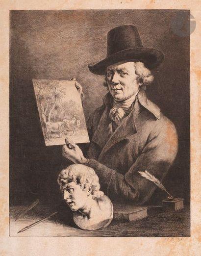 Jean-Jacques de Boissieu (1736-1810) Jean-Jacques de Boissieu, portrait de l'auteur....