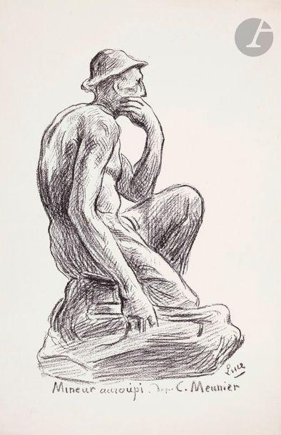 Maximilien Luce (1858-1941) Les Gueules noires....
