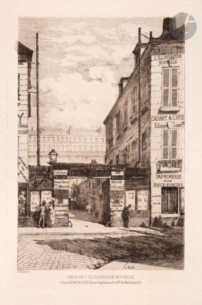 MiscellaneousA strong lot, mainly of pl. for the Société des Aqua-fortistes and...