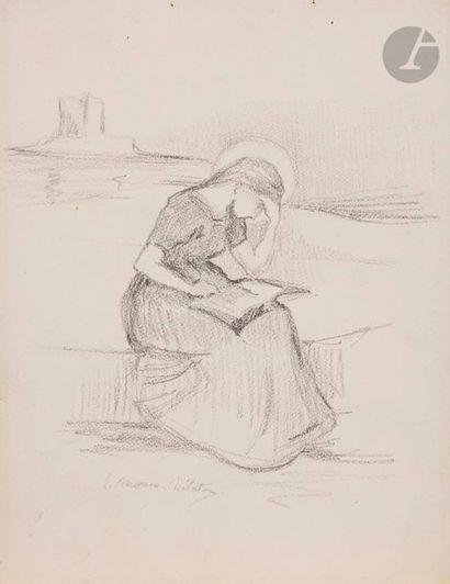 Divers Un lot par ou d'après Moreau-Nélaton, P. Renouard, Toulouse-Lautrec, etc....