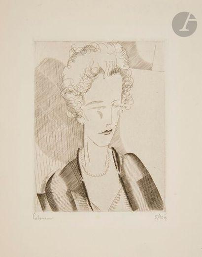 Divers Un lot par Clairin, Dunoyer de Segonzac, Forain, Gromaire, Matisse, Pascin,...