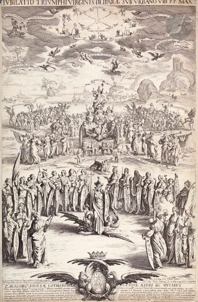 Jacques Callot (1592-1635) Le Triomphe de...