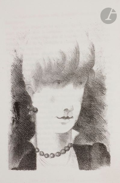 Yves Alix (1890-1969) Benoît (Pierre). Mademoiselle...
