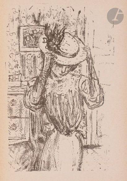 Pierre Bonnard (1867-1947) Nansen (Peter). Marie/roman traduit du danois par Gaudard...