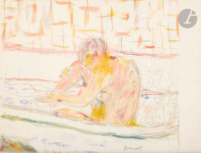 Pierre Bonnard (1867-1947) Programme pour la «Grande Soirée Maurice Chevalier»...