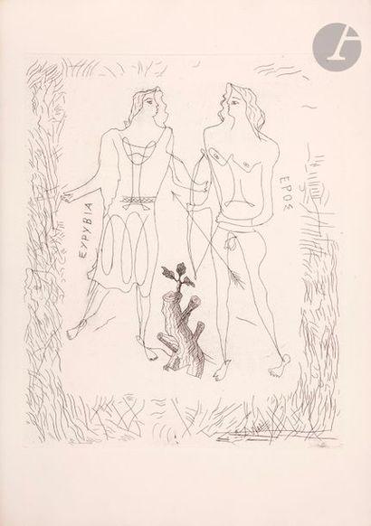 Georges Braque (1882-1963) Eurybia et Éros....