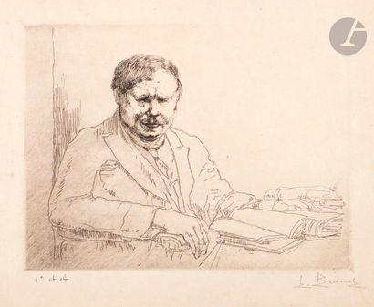 Auguste Brouet (1872-1941) Portrait de G....