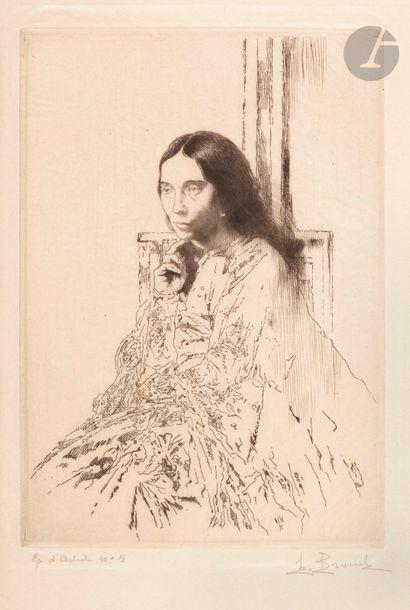 Auguste Brouet (1872-1941) La Mère de Whistler....
