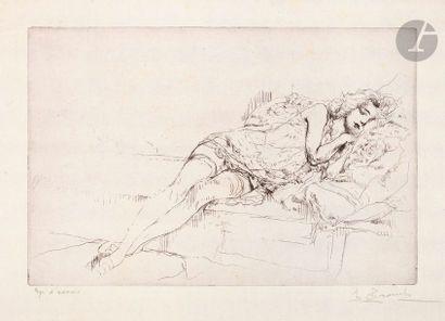 Auguste Brouet (1872-1941) Ballerine; La...