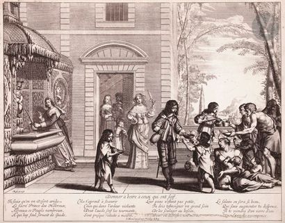 Abraham Bosse (1604-1676) Donner à boire...