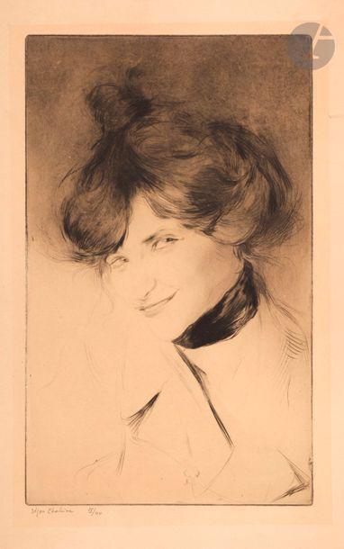 Edgar Chahine (1874-1947) Marie (Mary Jacobson)....