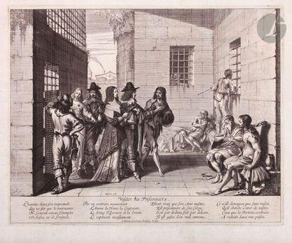 Abraham Bosse (1604-1676) Visiter les prisonniers;...