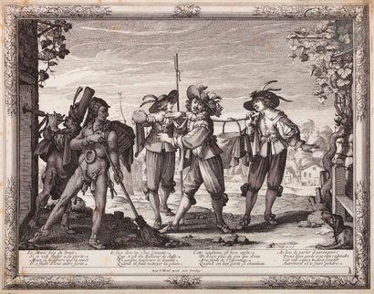 Abraham Bosse (1604-1676) Le Charivari du...