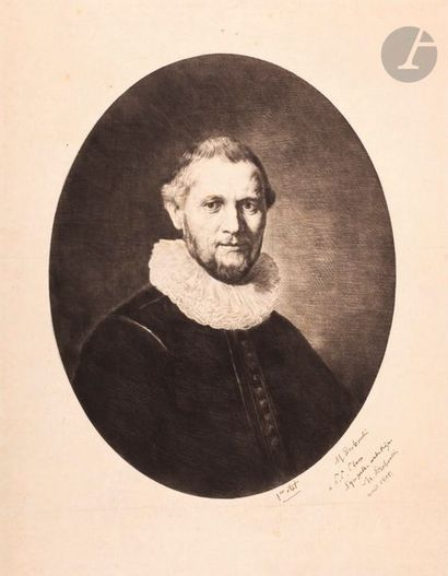 Marcellin Desboutin (1823-1902) Portrait...