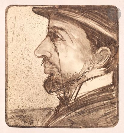 Maxime Dethomas (1867-1929) Portrait d'Henri...