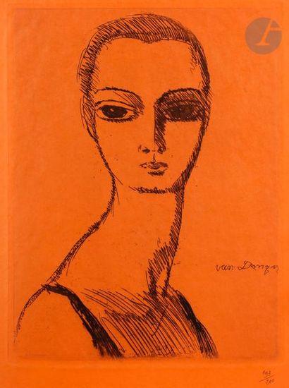 Kees van Dongen(1877-1968) Des Courières...