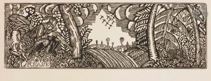 Raoul Dufy (1877-1953) La Chasse. Vers 1910....