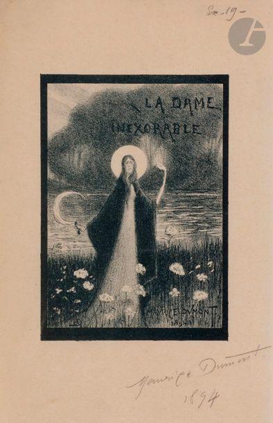 Maurice Dumont (1869-1899) La Dame inexorable....