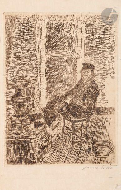 James Ensor (1860-1949) Pouilleux indisposé...