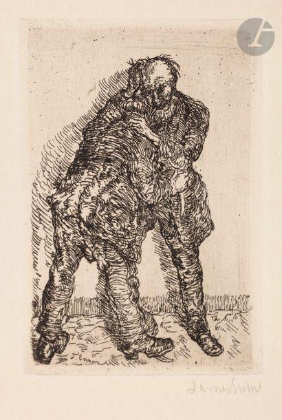 James Ensor (1860-1949) Le Combat. 1896....