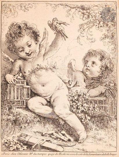 François Boucher (1703-1770) La Tourterelle...