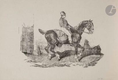 Théodore Géricault (1791-1818) Cheval de...
