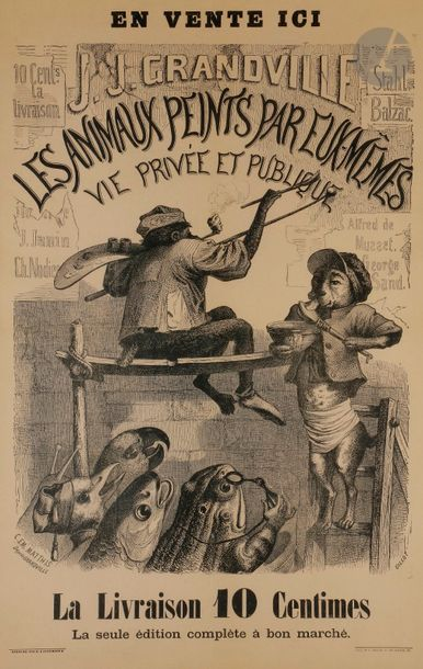 Grandville (Jean-Ignace-Isidore Gérard, dit)...